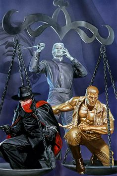 JUSTICE, INC. by Michael Uslan Arrives in August 2014 at Dynamite