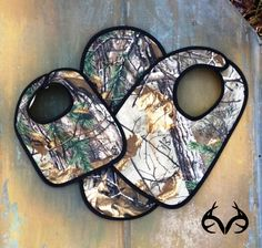 #NEW #RealtreeXtra #Camo #Bibs - protect your baby's clothes with a good bib.