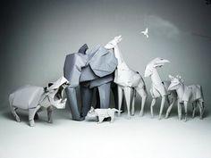 Origami Animals #origami #animals #diyideas #decoration #crafts