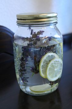 Lemon and lavender infused gin - I am inspired by the cupcake!