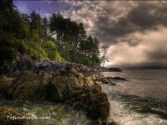 Tonquin beach picturesque