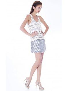 Cómo usar el Little White Dress LWD ::: Mini Vestido Blanco #Summer2014 Vestido Blanco Hardy de Parker disponible en www.styleto.co