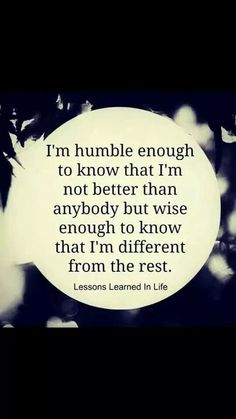 Humble & different