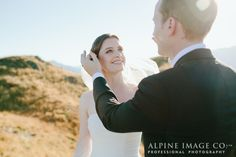 Janina & Wes flew to a beautiful mountaintop location a summers day for their romantic elopement wedding planned by Wanaka wedding planners, Boutique Weddings NZ and Wanaka wedding photographers, Alpine Image Company. Elope Wedding, Elopement Wedding, Wedding New Zealand, Wedding Moments, Bridal Makeup, Real Weddings, Wedding Planner, Mountain Weddings, Romantic