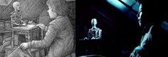 Hugo Cabret Book/Film Comparison Shot