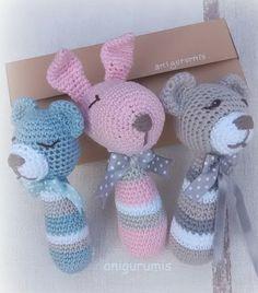 sonajero, bebe, amigurumi, crochet, ganchillo,