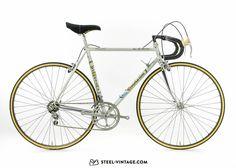 Steel Vintage Bikes - Tommasini Air Prestige Classic Road Bike 1986
