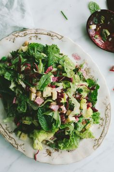 Spring Chopped Salad by notwithoutsalt #Salad #Spring #Healthy
