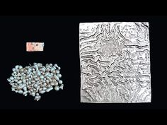 (1) Creating An Amazing Texture Using Silver Reticulation Techniques - YouTube