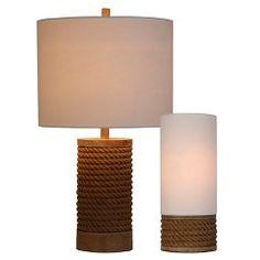 Threshold™ Rope Base Table Lamp - Brown