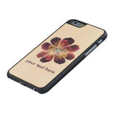 Tibet Sea Flower | Custom iPhone Samsung Wood Case
