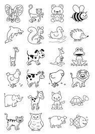 imagenes para colorear para niños pequeños sobre viviparos - Buscar con Google   animales   Pinterest