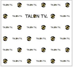 Talon TV  Step and Repeat  16555    www.sign11.com