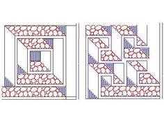 labyrinth walk quilt pattern - Google Search