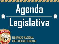 A Fenapef divulga semanalmente a Agenda Legislativa. Acompanhe as reuniões, projetos da categoria e Segurança Pública e sessões da Câmara e Senado Federal,