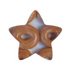 YUMMY SWEET DONUTS STAR STICKER