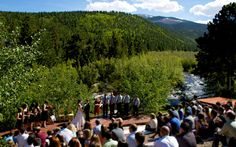 My NEW wedding venue..now do I have it at the river, or the aspen grove?