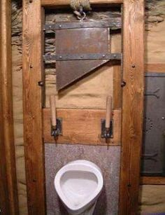 I bet you haven't seen urinals this weird! Check out our top list of the weirdest urinals ever. Man Bathroom, Bathroom Humor, Urinal Art, Deco Wc Original, Cool Toilets, Wc Decoration, Toilet Design, Kitchen And Bath, Man Cave
