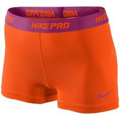 "Nike Pro 2.5"" Compression Short - Women's - Training - Clothing - Team Orange/Rave Pink"