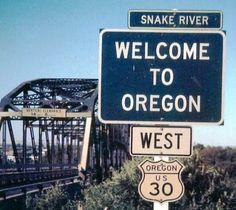 Vintage Highway Sign