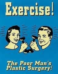 """Fitness Quotes : Illustration Description funny, exercise, plastic surgery, the poor man's plastic surgery """"The difference between the impossible and the possible lies in a person's determination"""" ! -Read More – - healthcares. Fitness Motivation, Fitness Quotes, Monday Motivation, Fitness Tips, Health Fitness, Fitness Humor, Exercise Motivation, Funny Fitness, Funny Exercise"""