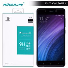 Nillkin 9H 0.33mm Amazing H Anti-Explosion Tempered Glass Screen Protector For xiomi redmi 4 (5 inch) redmi 4 pro screen film