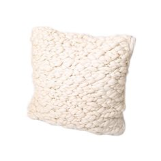 Pure Lana - Clouds Merino Cushion - Natural Ivory - 60x60cm