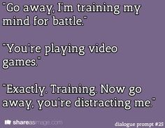 Video games as life's training ground