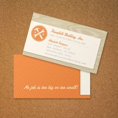 handyman business card vistaprint - Business Card Design Ideas