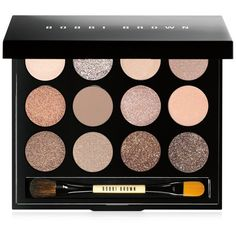 Bobbi Brown Sandy Nudes Shimmering Sands Eye Palette (£45) ❤ liked on Polyvore