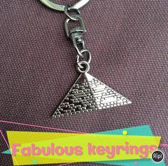 Fabulous #gift ideas! http://www.happiesttomato.co.uk/  #birthday #present #jewellery #summer  #pyramid #13steps #illuminati #keyring