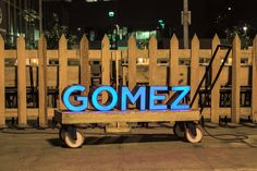 GOMEZ by SAVVY STUDIO , via Behance