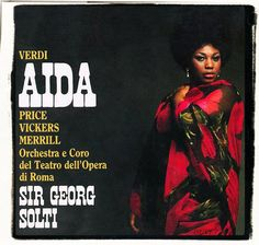 "Leontyne Price, ""Aida"" recording cover"