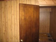 If you have moved into an older house that has real wood paneling or fake wood paneling, you likely need to deal with grooves in the wall. Grooves in paneling make painting the room difficult, and they also give the house a tired, dated look. Wood Panel Walls, Wood Paneling, Paneled Walls, Paneling Ideas, Interior Paint Colors, Paint Colors For Home, Hanging Drywall, How To Hang Wallpaper, Up House