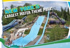 ★★★ Enchanted Forest Water Safari ★★★ New York's Largest Water Theme Park, Old Forge NY, in Adirondacks, New York Amusement Park