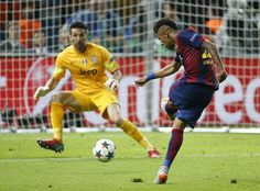 Neymar's goal | 2015 Champions League Final, Berlin, 6 June 2015: Juventus 1 - FC Barcelona 3