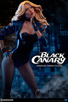 Black Canary Premium Format(TM) Figure by Sideshow Collectibles