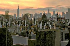 Maybe I'm weird, but I love old cemeteries, and this one looks awesome.