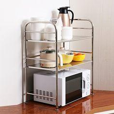 Xiantai Kitchen Storage Rack Microwave Oven Baker Organiz Https Www