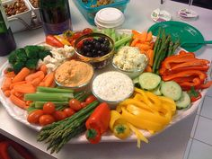Perfect vegetable party platter | Flickr - Photo Sharing!