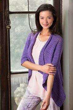 Drapey Crochet cardigan..# free # crochet pattern link here
