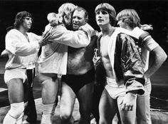 Kerry, David, Fritz, Kevin, and Mike Von Erich - SJ