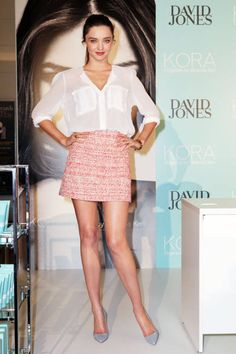 Miranda Kerr Style - Fashion and Beauty Photos of Miranda Kerr - ELLE