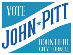 Logo for John Pitt, City Council