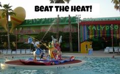 Great tips on beating the heat at Disney World!