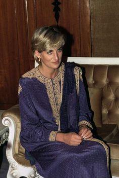 Diana, Princess of Wales in Pakistan.