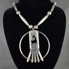Hopi Native American Vintage Sterling Silver by SDGoldRefinery