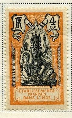 FRENCH INDIA; 1929