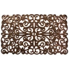 Wayfair Basics Scroll Doormat