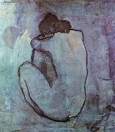 Pablo Picasso Seated Nude Back View 1902